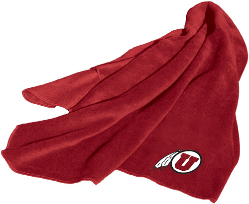 Utah Utes NCAA Fleece Throw