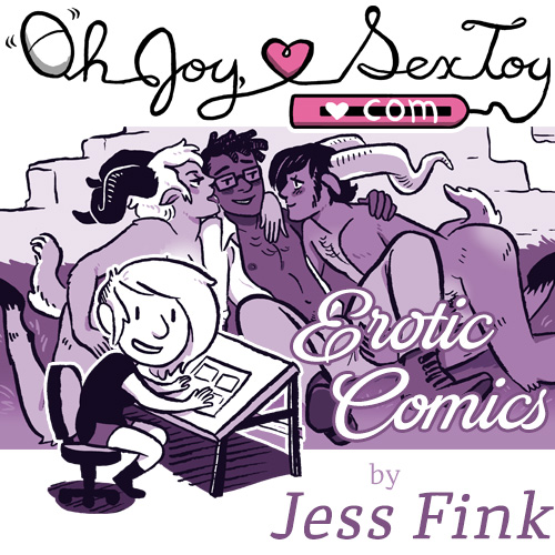 preview of oh joy sex toy comic