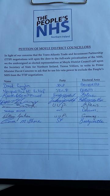 Moyle Petition