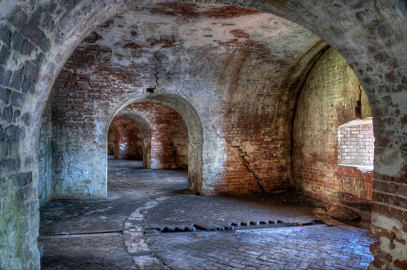 Fort Pike - Inside the Walls