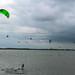 Les eaux peu profondes de cet endroit facilitent l'apprentissage. Makkum, Pays-Bas
