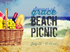 PowerPoint design for Beach Picnic 2014