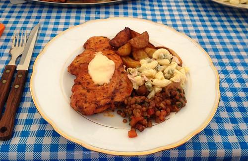 Grillteller / BBQ dish