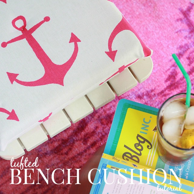 1 bench cushion