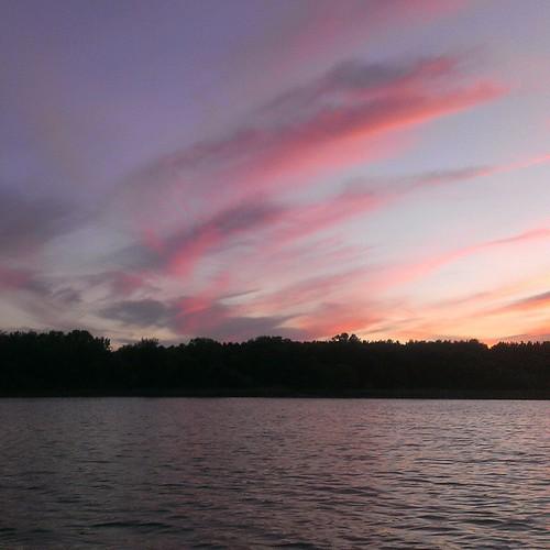 #sunset #summer #wisconsin #nofilter