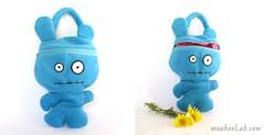 Βlue monster bag