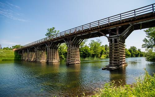 bridge croatia rivers karlovac korana tamron1735284 nikond600 riverkorana voodenbridge