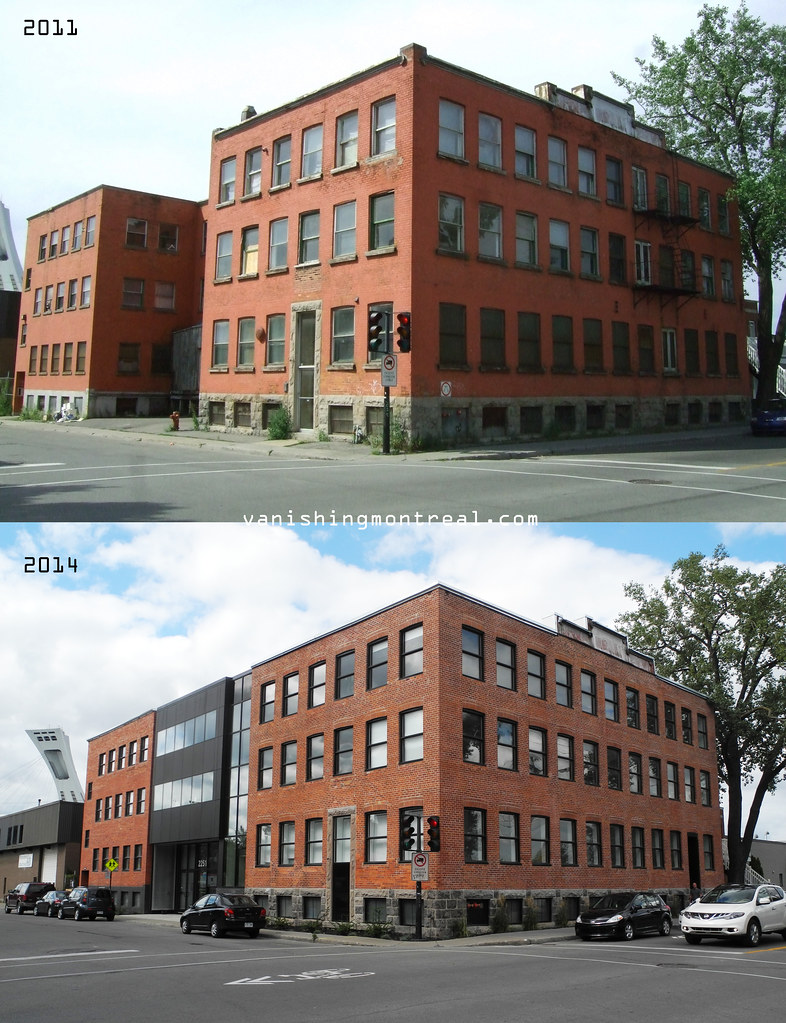 Before and After : building on Rouen and Letourneux