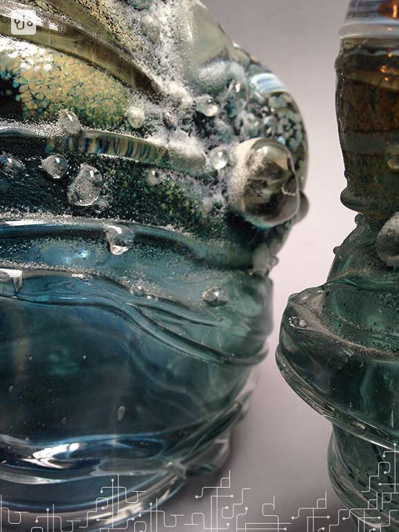 Vasos esculturais
