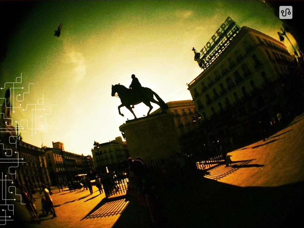 Puerta del Sol   Madrid   Espanha