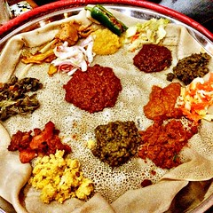 Absolutely loving the fasting meals here in Ethiopia! Totally #vegan & amazingly delicious! #learning2 #l2africa