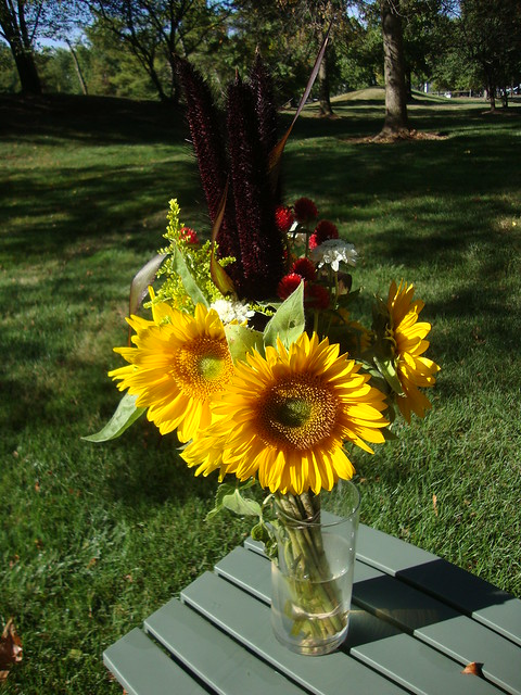Princeton Farmers Market flowers, 9/13