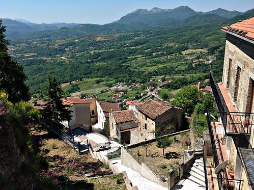 Panorama di Castelluccio (Potenza) Italia
