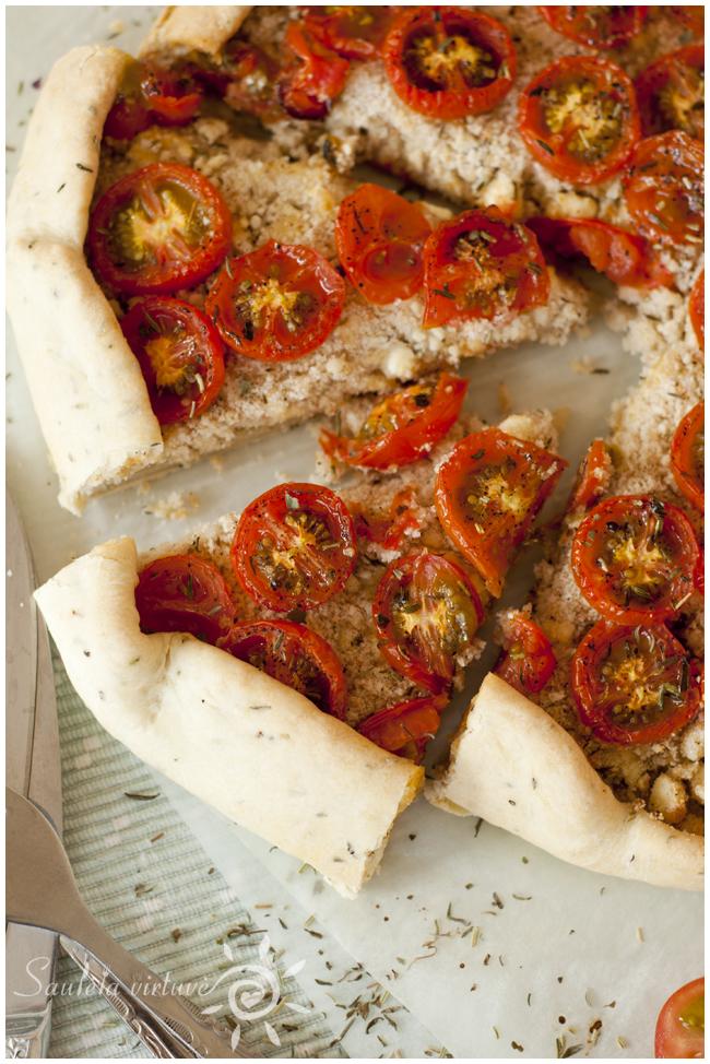 Pyragas su varškės sūriu ir pomidorais (6)