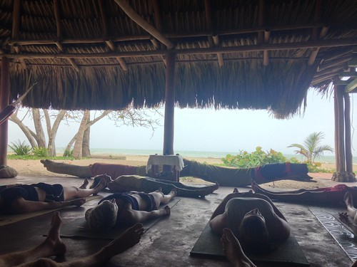 La Sirena also offered Yoga every morning