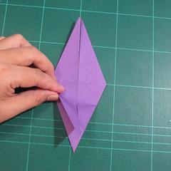 วิธีพับกระดาษเป็นรูปเต่าแบบง่าย (Easy Origami Turtle) 009