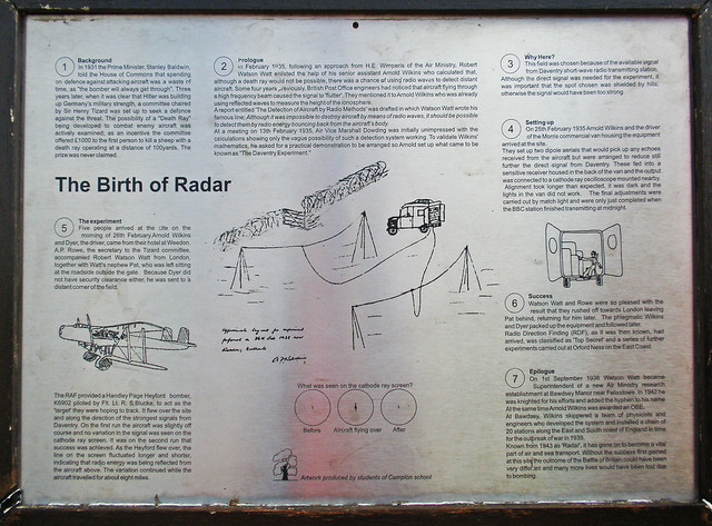 The Birth of Radar Memorial