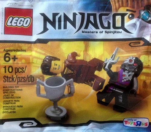New LEGO Ninjago Dareth Polybag (5002144) Found | The Brick Fan