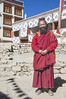 The Monk who did not drive a Ferrari but a small Maruti Car at Lamayuru in Ladakh