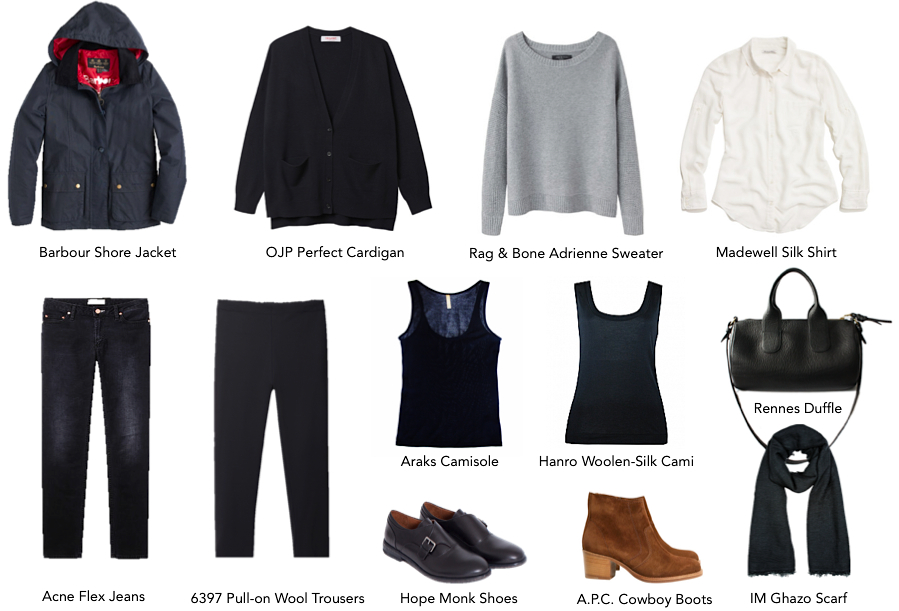 The Fw 14 Capsule And A Mini Rant On Minimalist Wardrobes