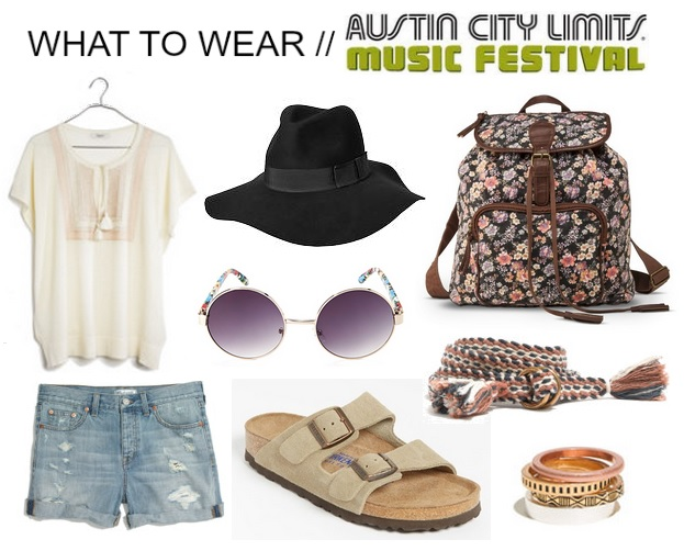 what to wear to ACL, festival outfit ideas
