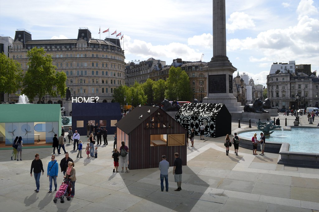 A Place Called Home supported by Airbnb for London Design Festival 2014