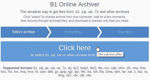 B1 free archiver password download