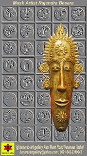 Mask Artist Rajendra Besara