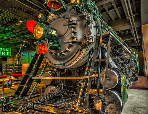 Engine 1401 by Geoff Livingston