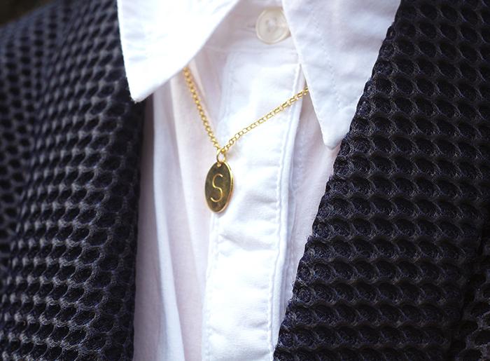 Anna Lou of London Monogram Necklace