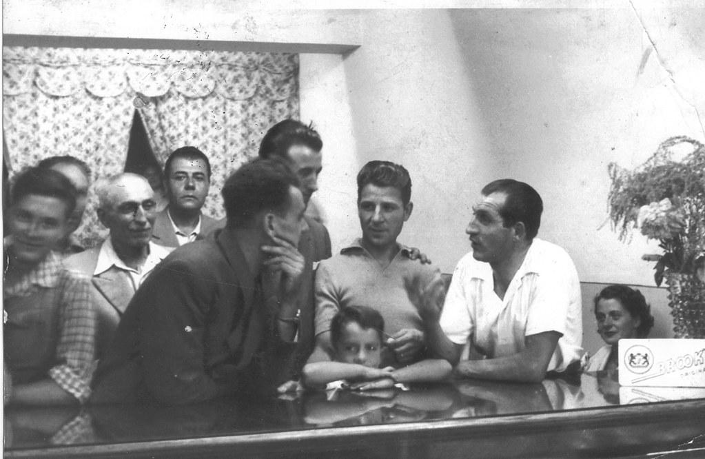 Raul Minchioni e Gino Bartali