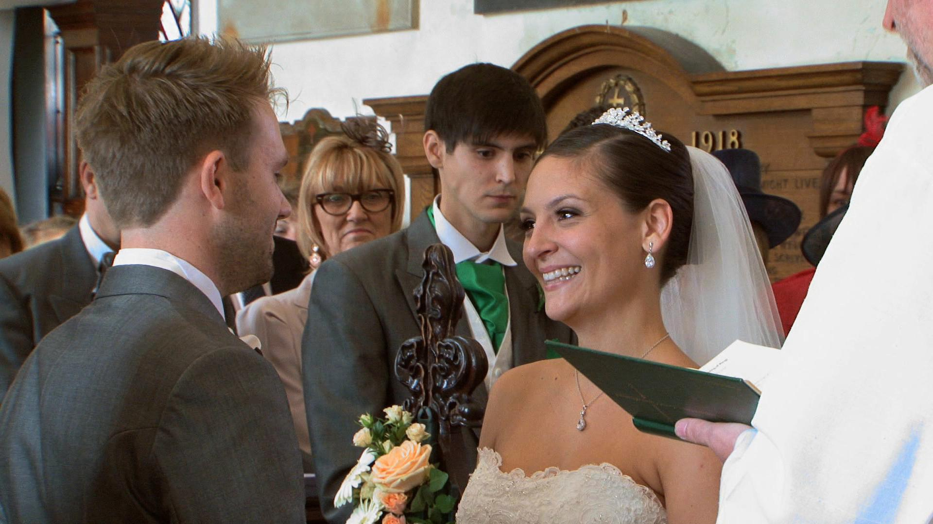Church wedding Shepperton Portobello Films