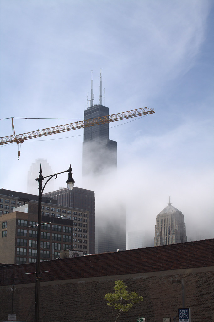 Chicago Fog in the Springtime
