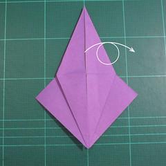 วิธีพับกระดาษเป็นรูปเต่าแบบง่าย (Easy Origami Turtle) 006