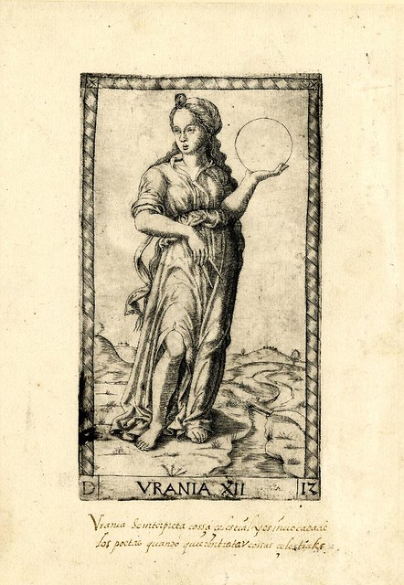 008-Urania-Tarot Mantegna-© The Trustees of the British