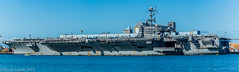 aircraft carrier, naval ship, vehicle, freight transport, ship, sea, navy, amphibious assault ship, dock landing ship, watercraft,