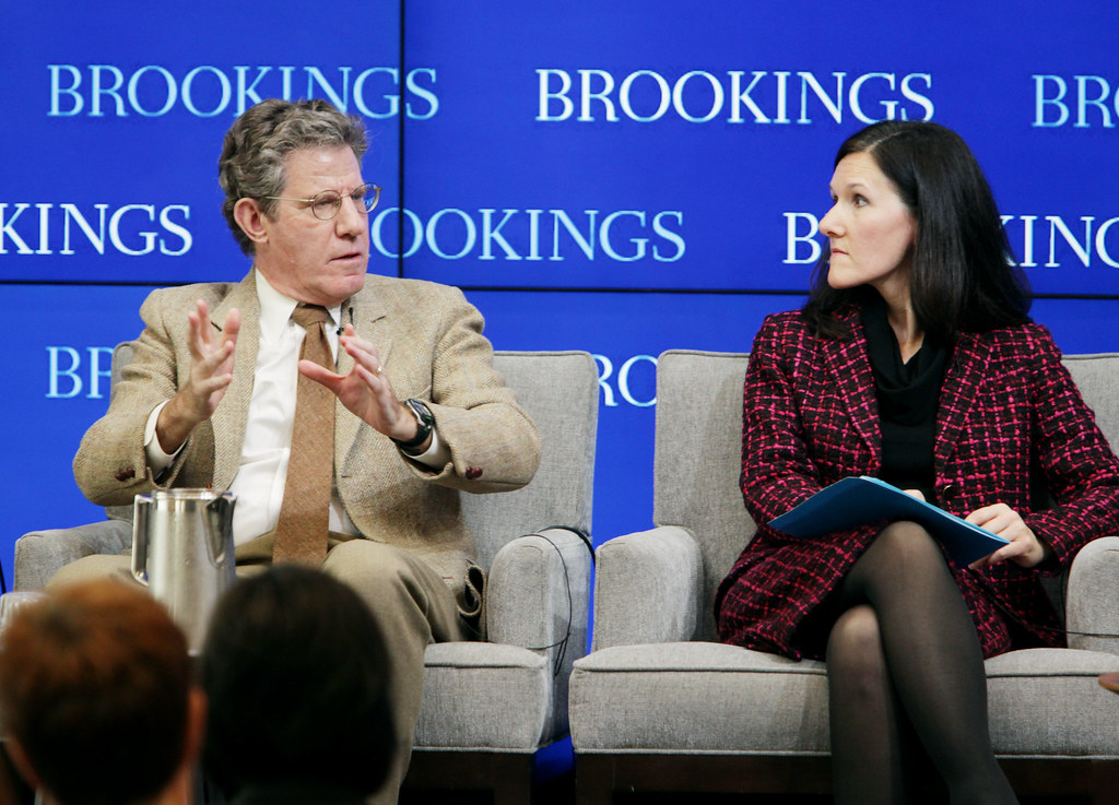 ... Winston and Emily Kolinski Morris, chief economist at Ford Motor Company, participate in the