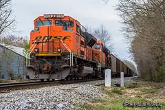 BNSF 9380   EMD SD70ACe   NS Memphis District