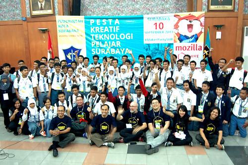 Maker Party - Hive Surabaya 2013