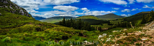 ireland sky mountains clouds view scenic hills countymayo keenagh letterkeenwoods