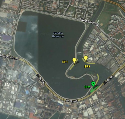 International Coastal Cleanup Singapore: Zones & Sites - Google Maps