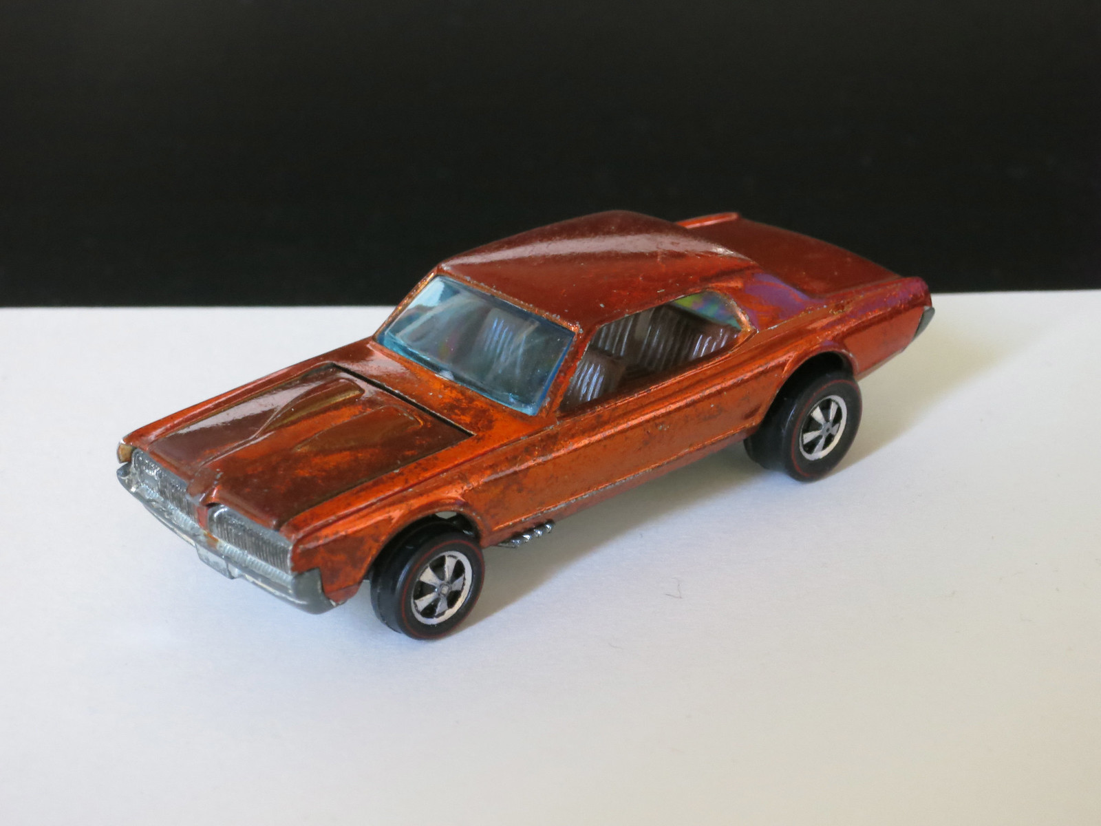 Hot Wheels Redline Orange Custom Cougar HK Early Production