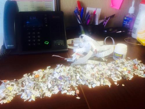 Conference call confetti