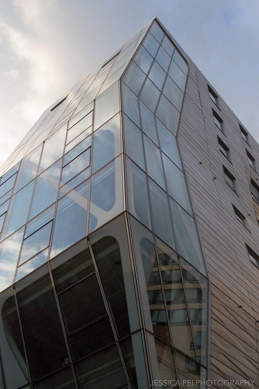 Angular Building on the High Line