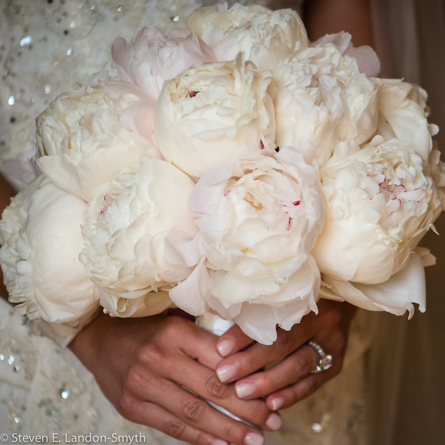 Beautiful White and Pink Bouquet