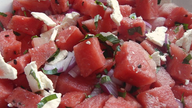 Watermelon Salad 14