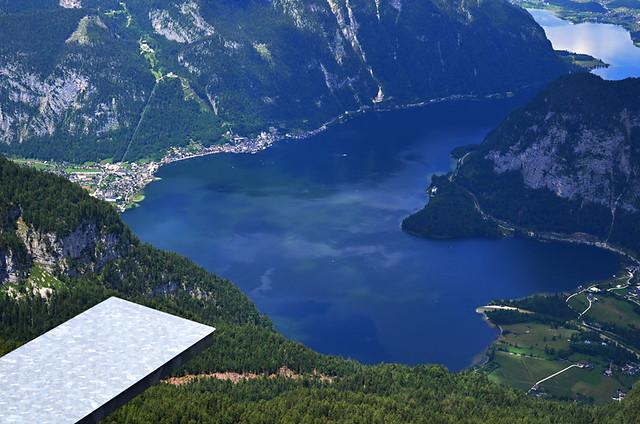 View from Five Fingers, Krippenstein, Austria