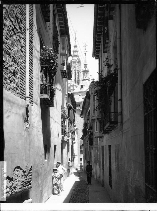 Calle de San Marcos a comienzos del siglo XX. Fotografía de J. Lacoste © MECD, Fototeca del IPCE, signatura VN-22671_P