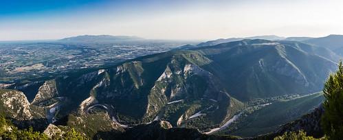 panorama river greece gorge meander straits banks thassos nestos meanders thrace xanthi thraki