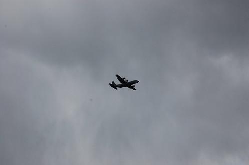 C-130J Hercules landing Lielvarde